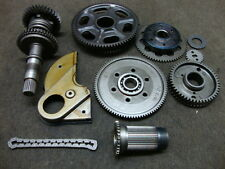 98 HONDA GL1500 GL1500C VALKYRIE OUTPUT SHAFT AND GEARS #E80