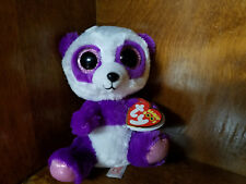 Authentic Ty Beanie Boo Boom Boom the Panda 6 inch size. New and Mint with tags!
