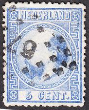Nederland / Netherlands 1867 NVPH 7 Puntstempel 67 Leeuwarden 50