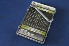 """13 Piece Vulcan 176-8183 High Speed Steel Drill Bit Set 1/16""""-1/4""""  New in Case"""