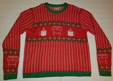 XL Kings Road Descendents Holiday Ugly Christmas Milo Sweater Punk Rock