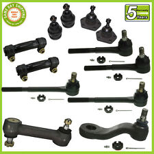 12 PC Kit Ball Joints Tie Rod Idler Pitman Arm C10 with Power Steering 67-70 2WD