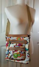 LILY BLOOM Tweety Twig Cross Body Bag Purse Multi Compartment NWOT