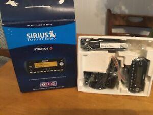 Sirius Satellite Radio Receiver Stratus 4 - SV4TK1 Complete Vehicle Kit  NIB