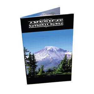 National Park Quarter Map Book- U.S.A National Nark Quarter Collection Book