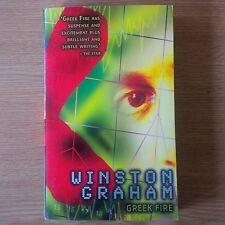 Greek Fire by Winston Graham Paperback New