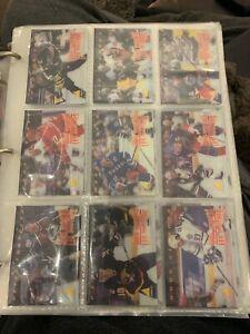 1996-97 PINNACLE MCDONALDS HOCKEY COMPLETE 40 CARD SET