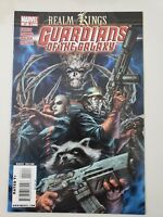GUARDIANS OF THE GALAXY #20 (2009) MARVEL COMICS REALM OF KINGS! STARLORD! GROOT