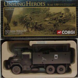CORGI MILITARY US50206 1/50 Unsung Heroes M35 Gun Truck Gamblers 27th Transport