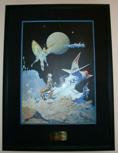 Frank Frazetta 'Encounter'  Signed And Numbered Lithograph Print # 260/500