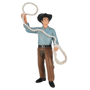 .Mojo AMERICAN COWBOY WITH LASSO figure toys play model plastic figurine NEW