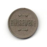 Token , Hülsewede , Deutschland , Wertmarke , Werth 15 , Biermarke , sehr selten