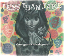 LESS THAN JAKE - SHE'S GONNA BREAK SOON - OZ 3 TRK CD - BILLY BRAGG - PUNK