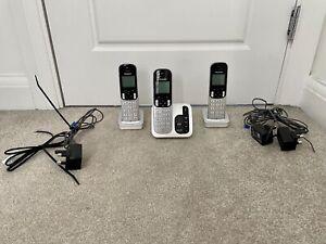 Panasonic KX-TGC220E Digital Cordless Phones Answering Machine Trio Tested