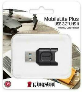 Kingston MobileLite Plus MicroSD  Card Reader USB 3.2 USH-II Connector MLPM-UK
