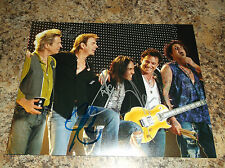 JOURNEY SIGNED 8 X 10 PHOTO ARNEL PINEDA NEAL SCHON ROSS VALORY JOHNATHAN CAIN 1
