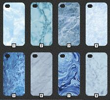 Baby Blue Marble Phone Case Cover Design Light Design Sky Electric Finish 13