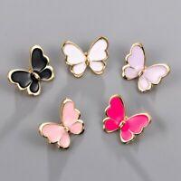 Chic Butterfly Enamel Brooch Pin Collar Decor Badge Corsage Women Jewellery Gift