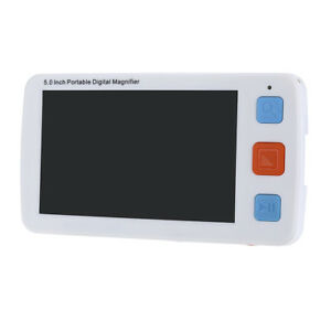5.0inch Digital Flexible Video Magnifier device 4-32X Reading Aid Adjustable UK