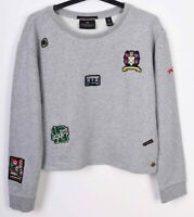 Scotch&Soda Women S Jumper Sweatshirt Pullover Crew Neck Cotton RA01h