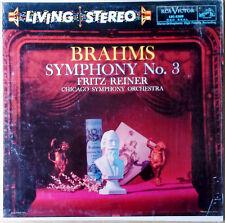 BRAHMS / SYMPHONY NO. 3 - F.REINER - RCA 2209 - LIVING STEREO - LP - IN SHRINK