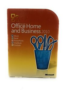 Microsoft Office Home and Business 2010 - DVD 2 PC Version - GENUINE