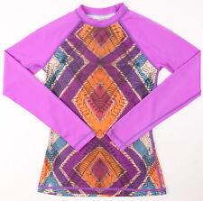 Dakine Youth Girls L/S Maria Rashguard Rashguards Keliana Purple XS New