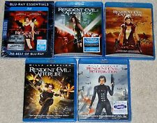 Horror Blu-ray Set - The Resident Evil Collection (3 New & 2 Used)