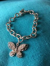 Silver Coloured Metal Butterfly Bracket
