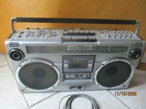 Sharp GF-9191 Ghettoblaster Boom Box Top Zustand Super Sound!