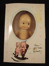 """Kewpie Rose O'Neill Cameo Jesco 6.5"""" tall Jointed Arms 1986 ~ VINTAGE NEW in BOX"""