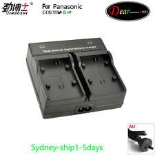 DUAL Battery Charger for Panasonic DMW-BLF19E BLF19PP DMW-BTC10E DMC-GH4 DMC-GH5