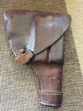 Wwii Sweden Swedish M/1907 Leather Holster for the Fn Browning Model 1903 Pistol
