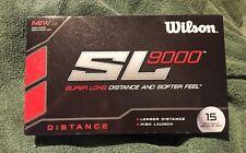 Wilson SL 9000 Super Long Distance 15 Golf Balls NEW
