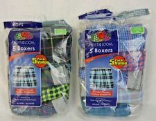 Boxer Shorts Size XL 18-20 Multi  #659Z 5 NWT Boy/'s Fruit Of The Loom