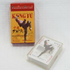 CHINESE SHAO LIN KUNG FU - THE PLAYING CARDS - 54 IMAGES - NEW IN SEALED PACKAGE