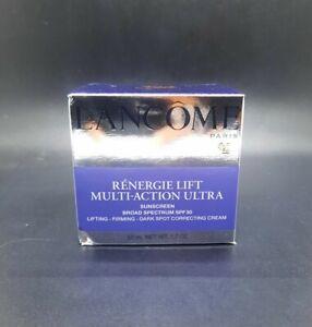 Lancome Renergie Lift Multi-Action Ultra SPF 30 1.7oz / 50ml NIB