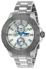 Invicta Pro Diver 23642 Men's Round Silver Tone Gun Metal Analog Watch