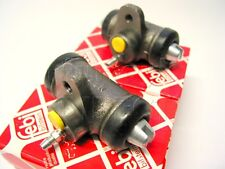 PAIR FEBI Rear Brake Wheel Cylinders VW T25 Transporter Camper 1980-92 T2 73-79