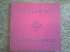 Styles du languedoc / Jean Chaumely dessins Jean Jacques Morvan