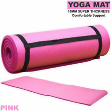 Materiales de yoga y pilates rosa