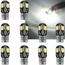 10x Canbus T10 194 168 W5W 5730 8 LED SMD White Car Side Wedge Light Lamp Bulb