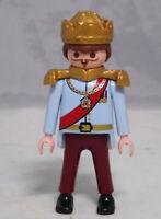 PLAYMOBIL Figur Prinz König Kaiser Krone Admiral General Monarch neuwertig #11