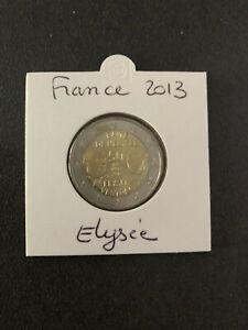 2 euros commemorative france 2013 50 ans du traite de l elysee UNC neuve