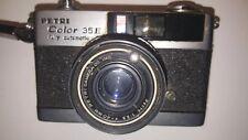 PETRI COLOR 35E Vintage Camera f:2.8 40mm Fully Automatic w/Strap