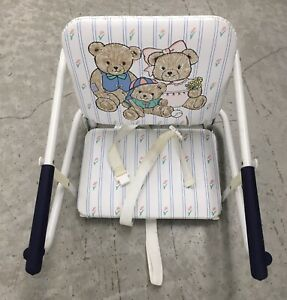 GRACO TOT LOC CHAIR Vintage Lock On Table Highchair Rare Three Bears