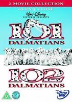 2 Movie Collection: 101 Dalmatians / 102 Dalmatians [DVD][Region 2]