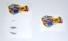 LOT OF 10 Pabst Blue Ribbon Beer PBR ART Limited Edition Pizza Oven Mitt Sticker