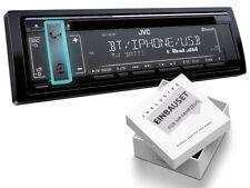 JVC 1DIN Autoradio Bluetooth CD USB Einbaukit für Kia Pro Ceed 2008-2011 schwarz
