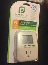 PRACTECOL Sustainable Solutions**ENERGY MONITOR**Electricity Consumption Meter